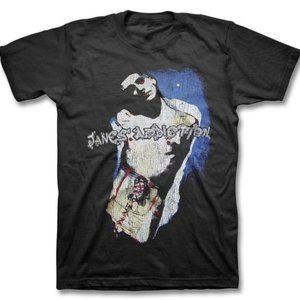 90's Grunge Band Jane's Addiction Boy Cut T-Shirt